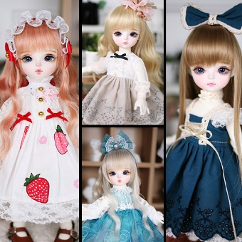 Special price! Random dress*2 set - DOLLSN,DD,BJD TOTAL SHOP
