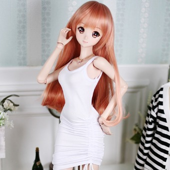 CDD-136 (White) - DOLLSN,DD,BJD TOTAL SHOP