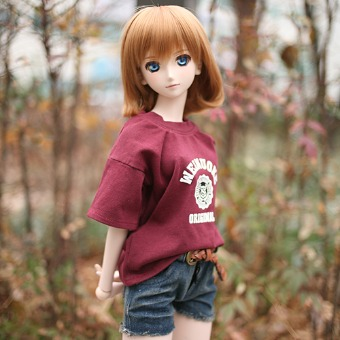 CDD-159 (Burgundy) - DOLLSN,DD,BJD TOTAL SHOP